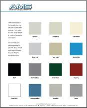AMS Colour Chart