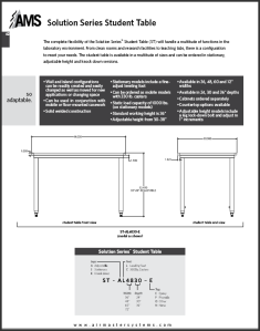Solution Series Student Table