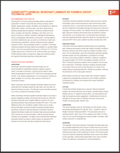 Chemtop Chemical Resistant Guide