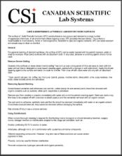 CSi Phenolic Care & Maintenance