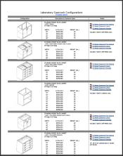 Laboratory Casework Configurations