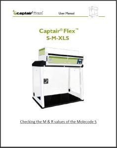 Molecode M & R settings checklist