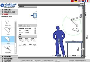 On-line Dimensioning by Alsident System