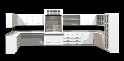 Poypropylene Lab Furniture IN PAGE