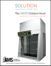 AMS manual - Green Solution Hood