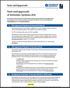 Tests and Approvals