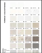 Formica Colour Chart June 2016