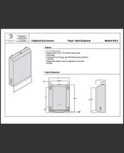 InterDyne Paper Towel Dispenser