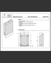 InterDyne Paper Towel Dispenser