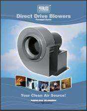 Peerless Blowers Direct Drive Blowers-forward-curve